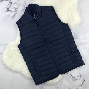 J. Crew Factory navy thinsulate vest